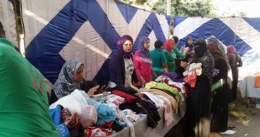 بالصور.. معرض لملابس عيد الأضحى والمدارس بمستقبل وطن فى الإسماعيلية