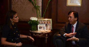 وزيرة التعاون: بدء إجراءات تنفيذ المشروعات الموقعة مع اليابان الشهر المقبل