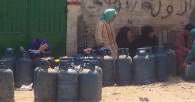 تحرير أول محضر جنح أمن دولة ضد مستودع غاز بدمياط