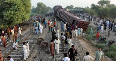ارتفاع ضحايا خروج قطار عن القضبان فى الهند إلى 60  قتيلا