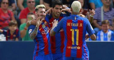 """ثلاثى """"MSN"""" يقود هجوم برشلونة فى موقعة الحسم أمام بلباو بالكأس"""