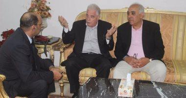 بالصور.. محافظ جنوب سيناء يستقبل الخبير المصرى العالمى كريم ابو المجد