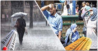 بالفيديو..الأرصاد: ذروة الطقس السيئ غدا وأمطار تصل لحد السيول على معظم الأنحاء -