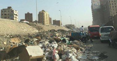 محافظة الجيزة تستجيب وترفع القمامة من شوارع بشتيل