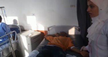 إيقاف سائق طفطف وإحالته للتحقيق فى واقعة إصابة 13 طالبا بجامعة سوهاج
