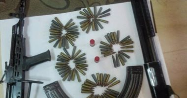 ضبط 687 قطعة سلاح نارى و1248 سلاح أبيض وورشة سلاح خلال أسبوع