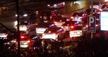 فيديو.. كثافات مرورية وتباطؤ حركة السيارات أعلى 26 محور يوليو