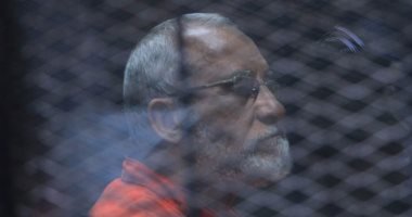 """غدًا.. نظر محاكمة """"بديع"""" و738 متهمًا آخرين بـ""""فض اعتصام رابعة العدوية"""""""