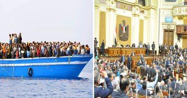 رئيس البرلمان: الهجرة غير الشرعية تشرف عليه عصابات أرباحها بالمليارات