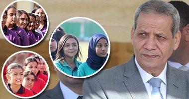 الدكتور الهلالى الشربينى وزير التربية والتعليم