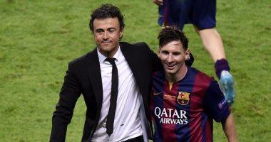 إنريكى خسر مباراة واحدة مع برشلونة فى غياب ميسي