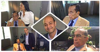 كواليس حلقة عمرو أديب مع رجل الأعمال حسين سالم