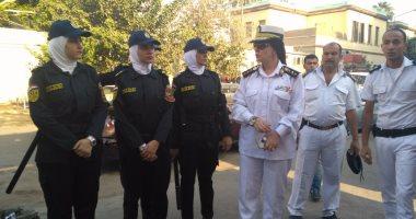 الشرطة النسائية تنتشر في الشوارع لمنع جرائم التحرش في العيد