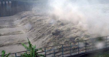 """أمطار غزيرة على خليج المكسيك بسبب العاصفة المدارية """"سيندى"""""""