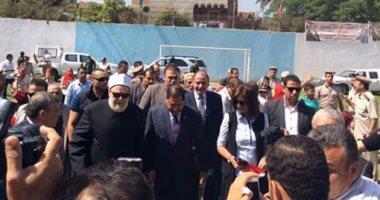 الشباب والرياضة بالغربية تستقبل وزيرة الهجرة والمفتى السابق