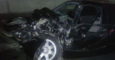 حادث تصادم بطريق الكورنيش بالإسكندرية