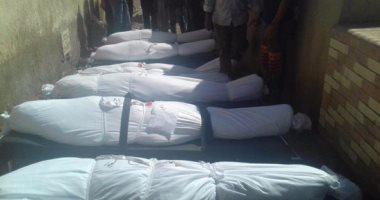 بالصور.. التعرف على جثة لسيدة إريترية قبل دفنها بمقابر الصدقة بالبحيرة