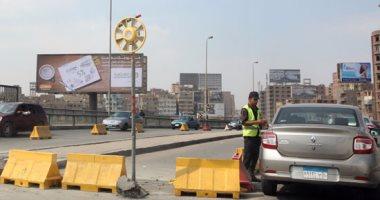 """""""المرور """": إغلاق جزئى لكوبرى أكتوبر بسبب إصلاح فواصل حتى 23 ديسمبر"""
