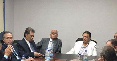 وزير الصحة يتفقد أعمال التطوير بمستشفى شرم الشيخ الدولى