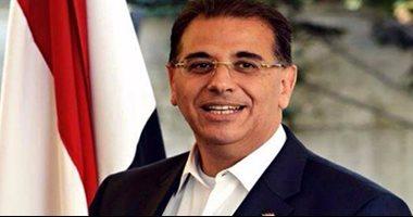 """سفير مصر بتونس يعلن التقدم باحتجاج بسبب """"زجاجات"""" جمهور الترجى"""