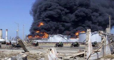 """دنوك الإماراتية: حريق بمصفاة """"الرويس"""" ونعمل على احتوائه"""