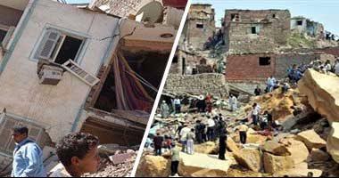 """10 معلومات عن """"زلزال 92"""" فى ذكرى حدوثه الـ24.. مركزه بالقرب من دهشور.. وتسبب فى وفاة 545 شخصًا وتشريد 50 ألفًا.. دمر 350 مبنى بالكامل وألحق أضرار بالغة بـ9 آلاف أخرى.. وتوابعه استمرت لمدة 4 أيام"""