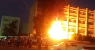 السيطرة على حريق هائل نشب بمصنع كونتر فى دمياط الجديدة