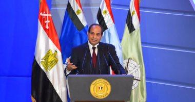 السيسى لمجلس أمناء الجامعة الأمريكية: ملتزمون بترسيخ سيادة القانون