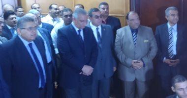 وزيرا التعليم العالى والتنمية المحلية يفتتحان مبانى مستشفى التمريض بالفيوم