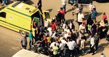 إصابة مواطن فى حادث سير مرورى بشارع فيصل بالجيزة