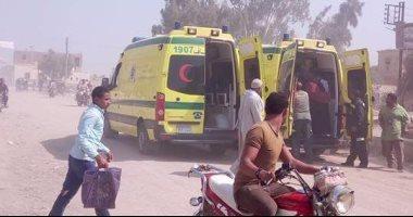 إسعاف المنيا: استشهاد 24 وإصابة 16 فى الهجوم الإرهابى على أتوبيس الأقباط