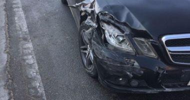 إصابة 4 أشخاص فى حادث تصادم سيارتين بشمال سيناء