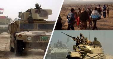 داعش تزعم النصر على القوات العراقية فى مناطق بالموصل