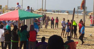 بالصور.. انطلاق فعاليات مهرجان الرياضات الشاطئية للجامعات ببورسعيد