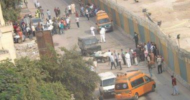 انفجار عبوة بشارع جسر السويس