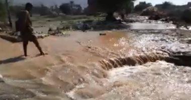 """معهد الموارد المائية يطالب بضرورة الاستفادة من مياه السيول قبل """"تبخرها"""""""