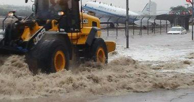 بالصور .. إسرائيل تغلق معبر طابا الحدودى مع مصر لسوء الأحوال الجوية