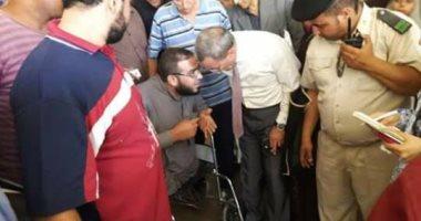 محافظ القليوبية يزور مستشفى شبين القناطر المركزى