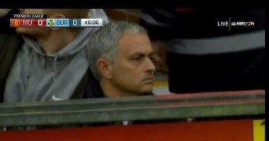 طرد مورينيو فى مباراة مانشستر يونايتد وبيرنلى