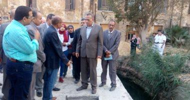 الجيزة تقضى على انقطاع المياه بالصف بمحطة مياه طاقتها 120 ألف متر يوميا