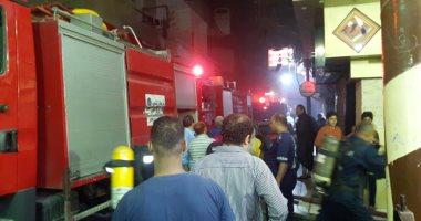 السيطرة على حريق داخل شقة سكنية فى الموسكى دون إصابات