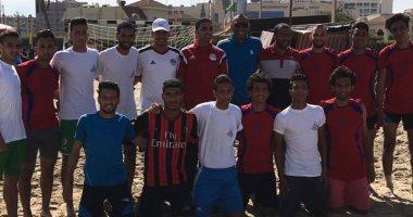 منتخب جامعة الفيوم يحصد المركز الثانى فى بطولة خماسى كرة القدم