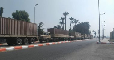 بالفيديو والصور.. وصول مساعدات القوات المسلحة للمتضررين من السيول بسوهاج