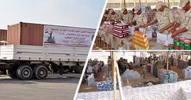 بالفيديو.. استعدادت الجيش لتوزيع 8 ملايين عبوة غذائية بالمحافظات بنصف الثمن