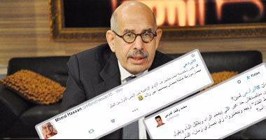 البرادعي متبرئا من النقطة البيضاء الوحيدة في تاريخه: لم أمهد أو أروج لعزل مرسي
