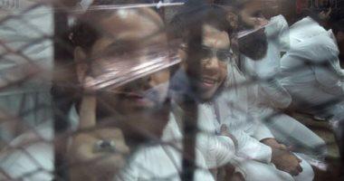 """4 تهم رئيسية تواجه 66 متهما بـ""""فض اعتصام النهضة"""" قبل ساعات من الحكم"""