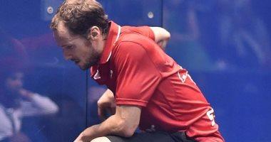 نهائى مصرى بعد انسحاب الفرنسى جوتيه من بطولة العالم بدجلة بسبب الإصابة