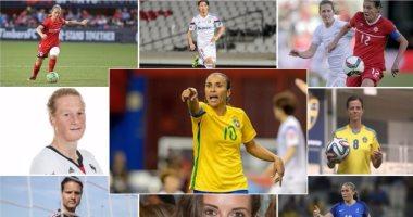 تعرف على المرشحات لنيل جائزة أفضل لاعبة فى العالم عام 2016