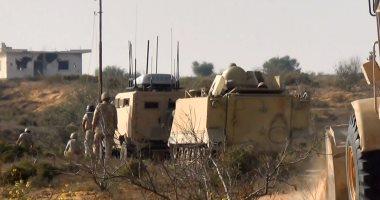 حرس الحدود يدمر 4 فتحات أنفاق جديدة على شريط سيناء الحدودى خلال أسبوعين