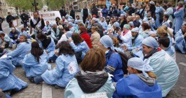 مسيرات احتجاجية لأطباء فرنسا احتجاجا على تدنى أوضاعهم الاجتماعية